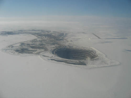diavik diamond mine salary